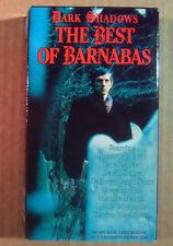 VHS~ BEST OF BARNABAS ~DARK SHADOWS ~Jonathan Frid ~David Selby ~Lara Parker
