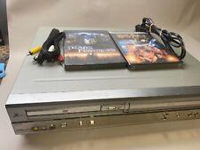 New listing Zenith Xbv243 Dvd Vhs Combo Vhs 4 Head Hi-Fi Stereo Video Cassette Recorder
