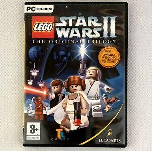 LEGO Star Wars II 2 The Original Trilogy PC - Clean CD
