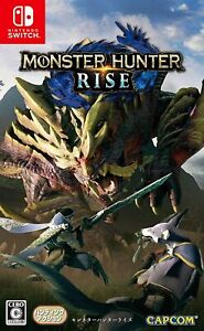 Switch Monster Hunter Rise CAPCOM Japanese Authentic New Japan Import