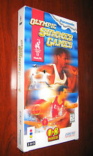 Olympic Summer Games Panasonic 3DO COMPLETE IN LONG BOX -CIB-ONLY 1 ON EBAY RARE