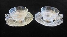 Set of 2 Mount Vernon by CAMBRIDGE  Cup & Saucer Set Manufactured 1931 - 1958