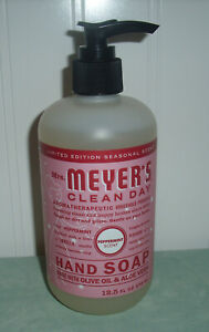 Mrs Meyers Clean Day Hand Soap PEPPERMINT Limited Edition Choose Quantity 12.5