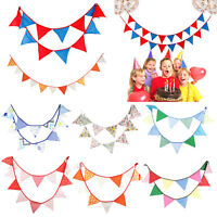 Baby Shower Flag Pennant Bunting Garland Partyware Party Banner Decorations 3.2m