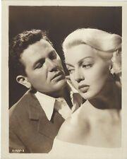 Vintage LANA TURNER And JOHN GARFIELD In THE POSTMAN ALWAYS RINGS TWICE-Noir