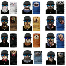 Animal Printed Summer UV Protect Scarf Windproof Bandanas for Outdoors Sports