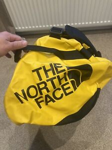 The North Face XL Holdall Duffel Bag - Yellow - Used Once