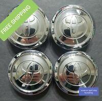 2004 05 06 07 08 09 2010 2011 Toyota Prius OEM Wheel Center hub caps - Set of 4