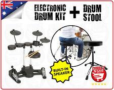 Electronic Drumkit TD36 + Drum Stool Bundle Drums Digital AUX Built-In Speaker