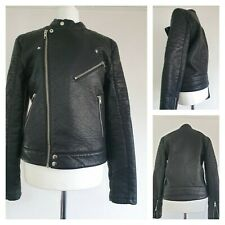 Topman Faux Leather Jacket Size XS Waist 28/30 (5)