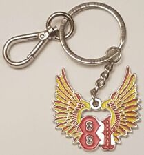 Key Ring Chain Badge 81 SUPPORT Motorcycle Nomads Angels Keyring Hells Bikers MC