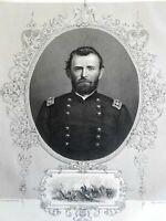 Ulysses S. Grant Union General Vicksburg 1865 Virtue Civil War portrait