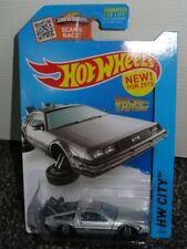 Back to the Future Hover Mode Hot Wheels City 42/250 Silver 1:64 New