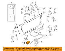AUDI OEM 08-09 TT Quattro Front Door-Lock Actuator Motor 8J1837015B