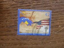 KOSOVO 2009 USA FRIENDSHIP €2 RATE USED STAMP
