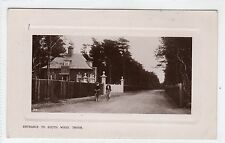 ENTRANCE TO SOUTH WOOD, TROON: Ayrshire postcard (C5840).