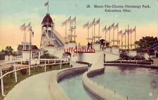 SHOOT-THE-CHUTES OLENTANGY PARK COLUMBUS, OH publ by Haenlein Brothers