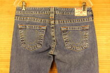 WOMENS TRUE RELIGION Bobby JEANS  BLUE.EXELLENT CONDITION.SIZE 30x31  #515