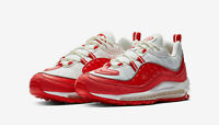 Nike Air Max 98 University Red White Size 9.5 640775-602
