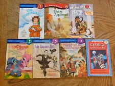 Lot of 7 Step Into Reading, I Can Read Children's Books