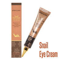 Snail Under Eyes Cream Facial Anti Aging Wrinkles Dark Circles Whitening 1.35 oz
