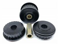 POLYPRO Rear Diff Front Mount Support Bushes for Mitsubishi PAJERO NM-NW 2000-ON