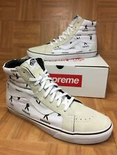 RARE🔥 VANS x Supreme x Playboy Sk8-Hi White Men's Size 13 Shoes Vintage Cool