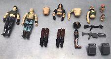 Lot Accessoires / Figurines / Parties Gi Joe Vintage  Dreadnok Zartan / Buzzer