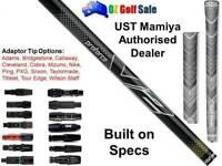 Black UST Mamiya Proforce V2 65 /75 R /S /X Shaft + Adaptor Tip - Custom Built