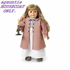 Brand New Authentic Retired American Girl Kirsten HOUSECOAT ONLY SO CUTE & RARE!