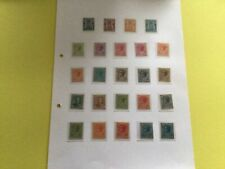Monaco  mounted mint  stamp album page  Ref 57732