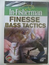 NEW SEALED IN-FISHERMAN FINESSE BASS TACTICS FISHING TIPS TRICKS DVD