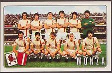 CALCIATORI PANINI 1976/77 402 MONZA SQUADRA + STEMMA NEW