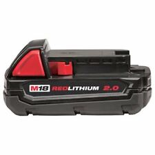 Milwaukee 48-11-1820 M18 18v REDLITHIUM 2.0 Compact Battery Pack NEW