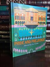 Pride and Prejudice by Jane Austen Illustrated Reimagined New Deluxe Hardback