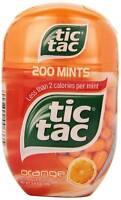 TIC TAC MINTS, ORANGE - ORANGE BOTTLE PACK, 3.4 oz ( PACK OF 4)