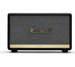 MARSHALL Acton II Wireless Bluetooth Speaker - Black - Currys
