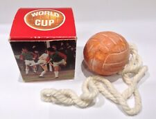1970 World Cup Soap On A Rope in Original Box by Avon Unused