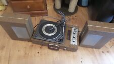 Garrard synchro lab 55 turntable and portable speaker case