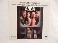 """ABBA """"Knowing Me, Knowing You"""" PICTURE SLEEVE ONLY! NEW! NICEST COPY ON eBAY!"""