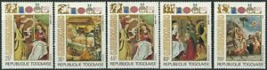 Togo - Ostern Satz postfrisch 1972 Mi.  911-915