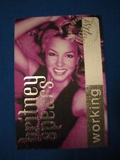 Britney Spears OOPS! I did it Again WORKING Backstage pass PURPLE Unused
