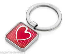 "Troika, "" App Keyring Love "", Keychain in app-design, Metal, Chrome-Plated"