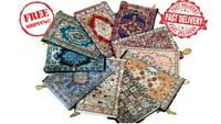 Embroidered Turkish Ladies Stylish Clutch Purse Boho Ethnic Wallet Pouch