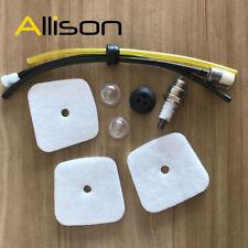 Air Filter Fuel line Filter Tune Up kit for Mantis Echo Tiller 7222 Zama c1uk54a