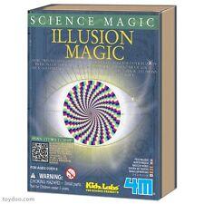 ILLUSION MAGIC - SCIENCE MAGIC KIDS EDUCATIONAL MAGIC TRICK KIT KIDZ LABS