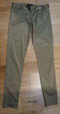 MALENE BIRGER Bronze Cotton Blend Sateen Crop Evening Trousers Pants EU38 UK12