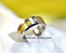 Diamond Tungsten Unisex Jewellery