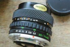 Olympus OM Systems S Zuiko Auto Zoom 35-70 1:3.5-4.5 Lens NICE