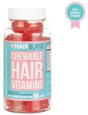 2 x Hairburst vitamins for Hair Growth Chewable Heart - 2 x  60 Vitamins